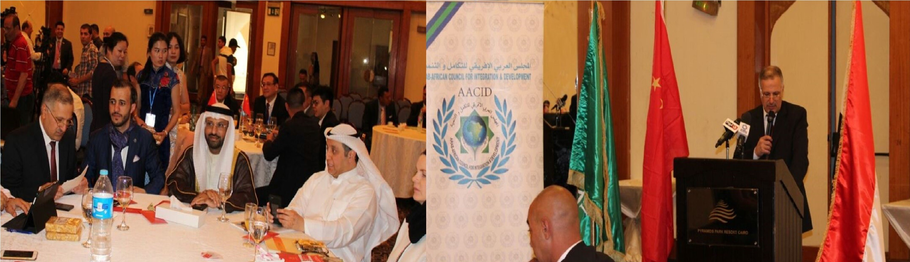 The (first) Arab African International Investment Conference for businessmen and women