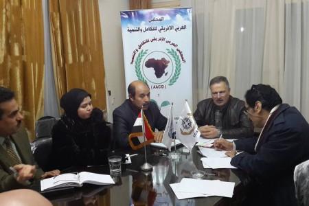استضافة السفيرة عبير محمد العراقى